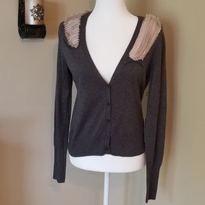 Simply Vera Wang Detailed Cardigan